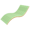 Тонкий мини-матрас Take&Go Bamboo Green Kokos