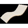 Тонкий мини-матрас Take&Go Bamboo White Kokos