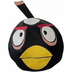 Бескаркасное Кресло Angry Birds Черная Птица