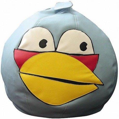 Бескаркасное Кресло Angry Birds Лазурная Птица