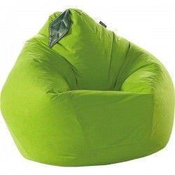 Бескаркасное Кресло-Игрушка Груша с листочком
