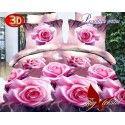 Рожеві троянди з компаньйоном