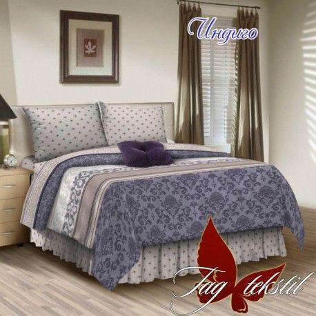 Комплект постельного белья Индиго