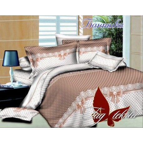 Комплект постельного белья Бантики с компаньоном