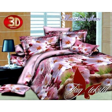 Комплект постельного белья Майский цвет с компаньоном