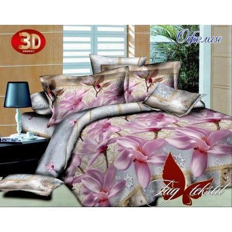 Комплект постельного белья Офелия с компаньоном