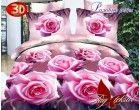 Комплект постельного белья Розовые розы с компаньоном