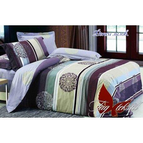 Комплект постельного белья Фенси лиловый