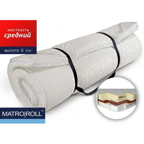 Матрас-топпер Double Comfort Matro-Roll-Topper / Дабл Комфорт