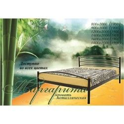 Металеве ліжко Маргарита