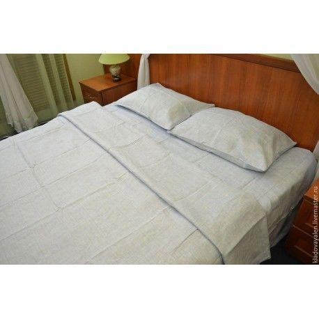 Комплект льняного постельного белья Линтекс