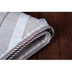 Льняной наматрасник в льняной ткани Линтекс