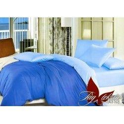 Комплект однотонного постельного белья P-4101(4310)