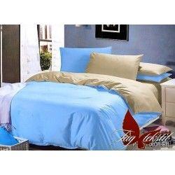 Комплект однотонного постельного белья P-4310(0813)