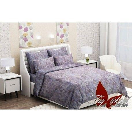 Комплект постельного белья (evro) RC6969fiolet