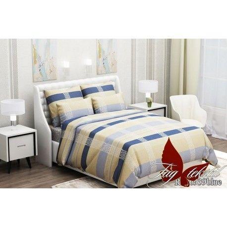 Комплект постельного белья (evro) RC6939blue