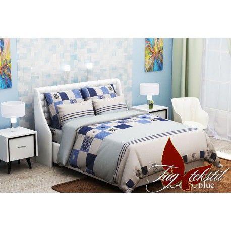 Комплект постельного белья (evro) RC6955blue
