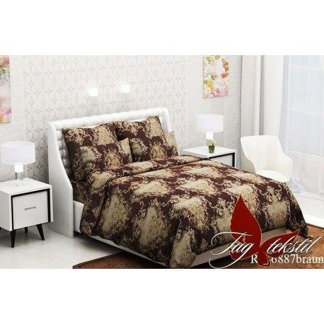 Комплект постельного белья (evro) RC6887braun