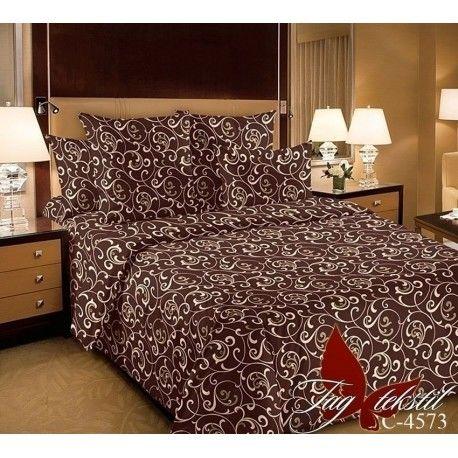 Комплект постельного белья (evro) RC4573braun