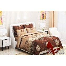 Комплект постельного белья (evro) RC336braun