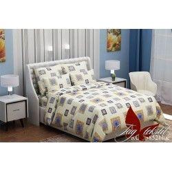 Комплект постельного белья (evro) RC13852blue