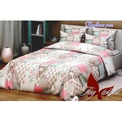 Комплект постельного белья Прованс розовый