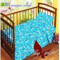 Детский комплект На радуге голубой