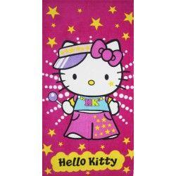 Полотенце пляжное Hello Kitty