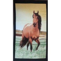 Полотенце пляжное Лошадь