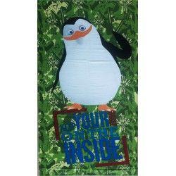 Полотенце пляжное Пингвин
