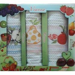 Набор кухонных полотенец 3V008
