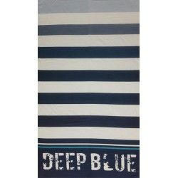 Полотенце пляжное Deep blue
