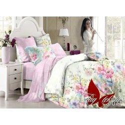 Комплект постельного белья с компаньоном S-077