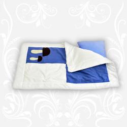 """Комплект """"Аппликация"""" (одеяло+подушка) 90х120"""