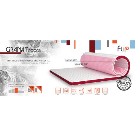 Міні-матрац Flip Granat Cocos