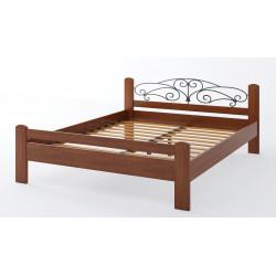 Дерев'яне ліжко Амелія