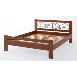 Дерев'яне ліжко Жасмін