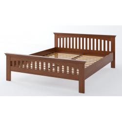 Дерев'яне ліжко Лаванда