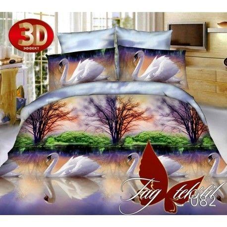 Комплект постельного белья 3D TG082