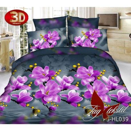 Комплект постельного белья 3D PS-HL039